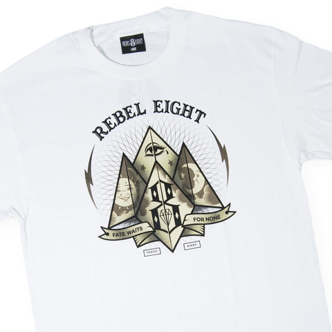 REBEL8 - 'Fate For None' [(White) T-Shirt]