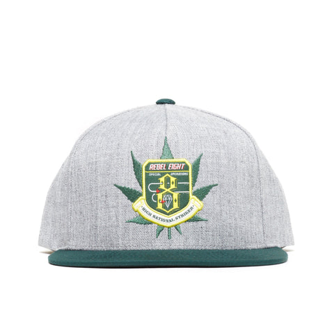 REBEL8 - 'National Striker' [(Gray) Snap Back Hat]