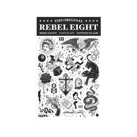 REBEL8 - 'Temporary Tattoo Flash' [Miscellaneous]