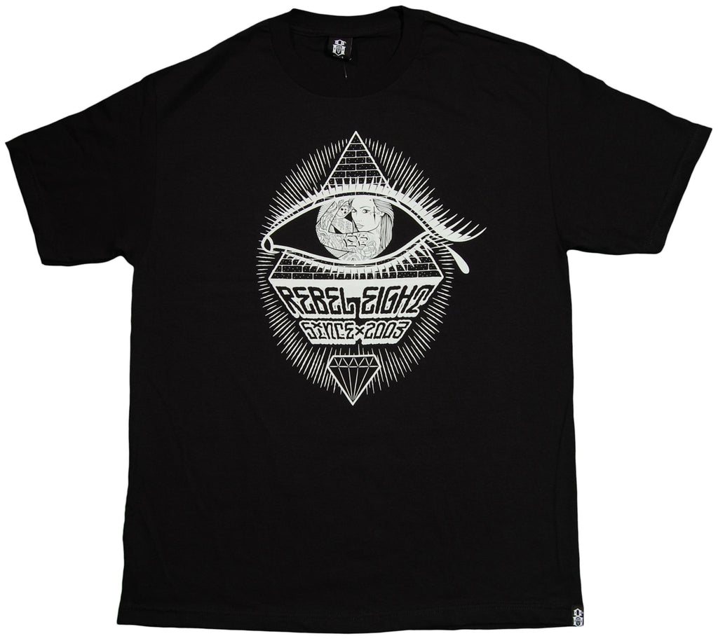 <!--2013061136-->REBEL8 - 'Mecca' [(Black) T-Shirt]