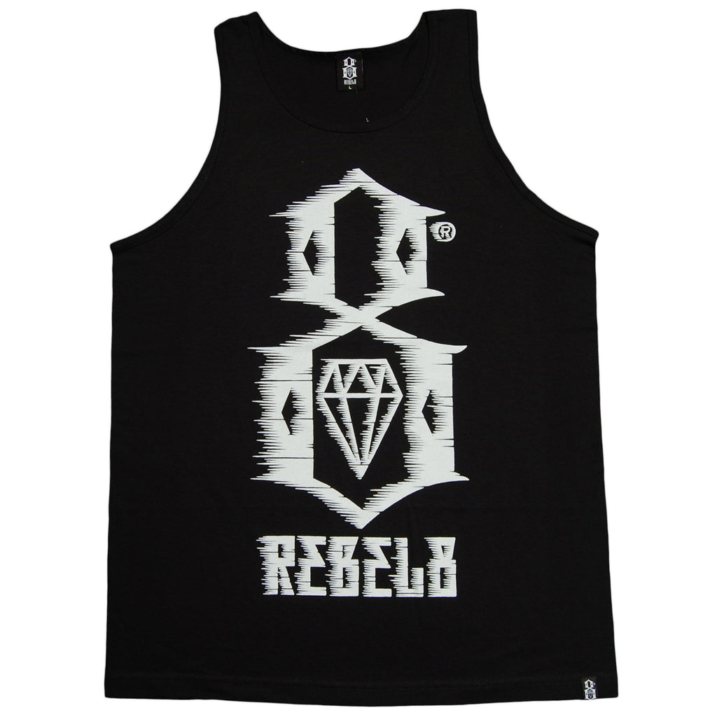<!--2013061131-->REBEL8 - '88 MPH' [(Black) Tank Top]