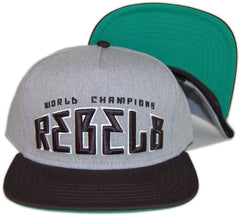 <!--020130611057260-->REBEL8 - 'World Champions' [(Gray) Snap Back Hat]