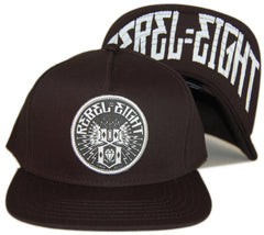 <!--020130611057262-->REBEL8 - 'Sewer King' [(Black) Snap Back Hat]