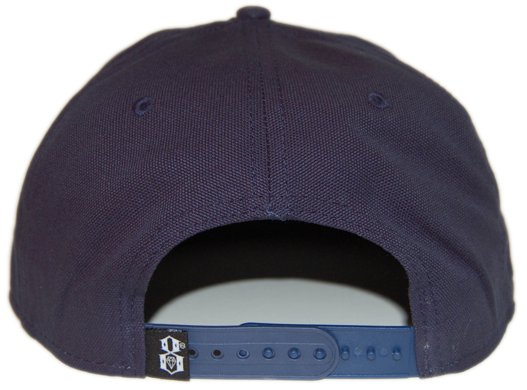 <!--020130611057265-->REBEL8 - 'Death Stroke' [(Dark Blue) Snap Back Hat]