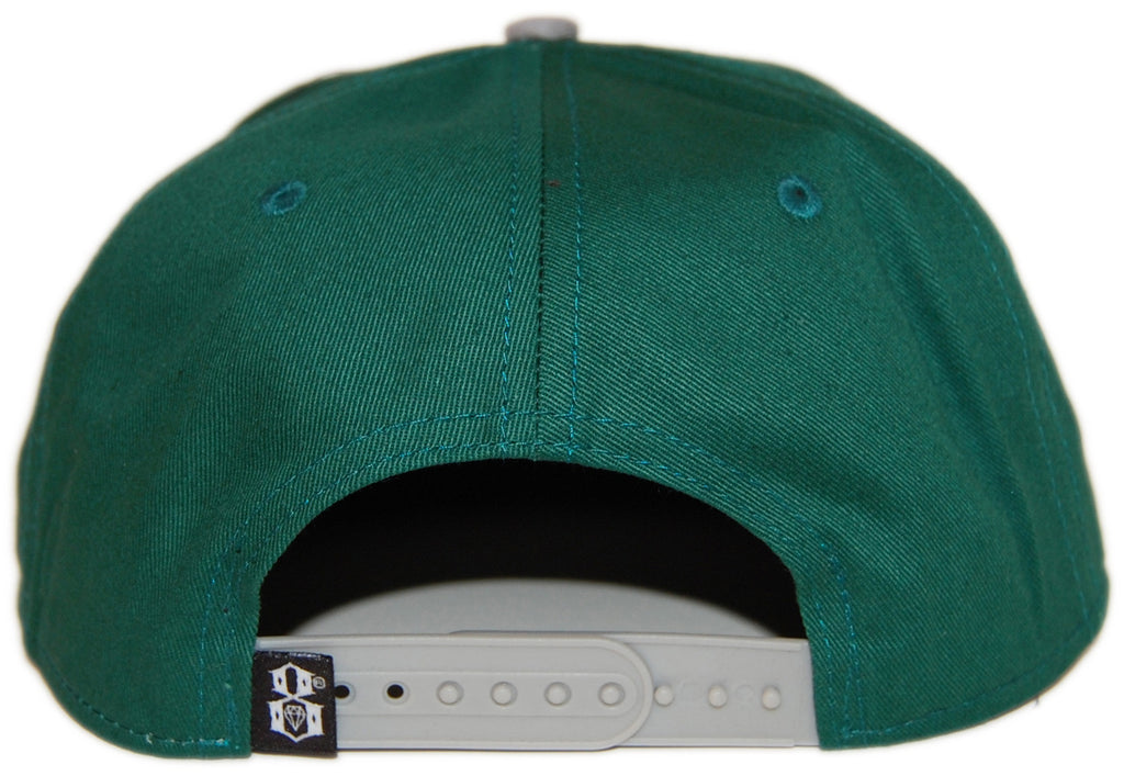 <!--020130611057264-->REBEL8 - 'Death Stroke' [(Green) Snap Back Hat]