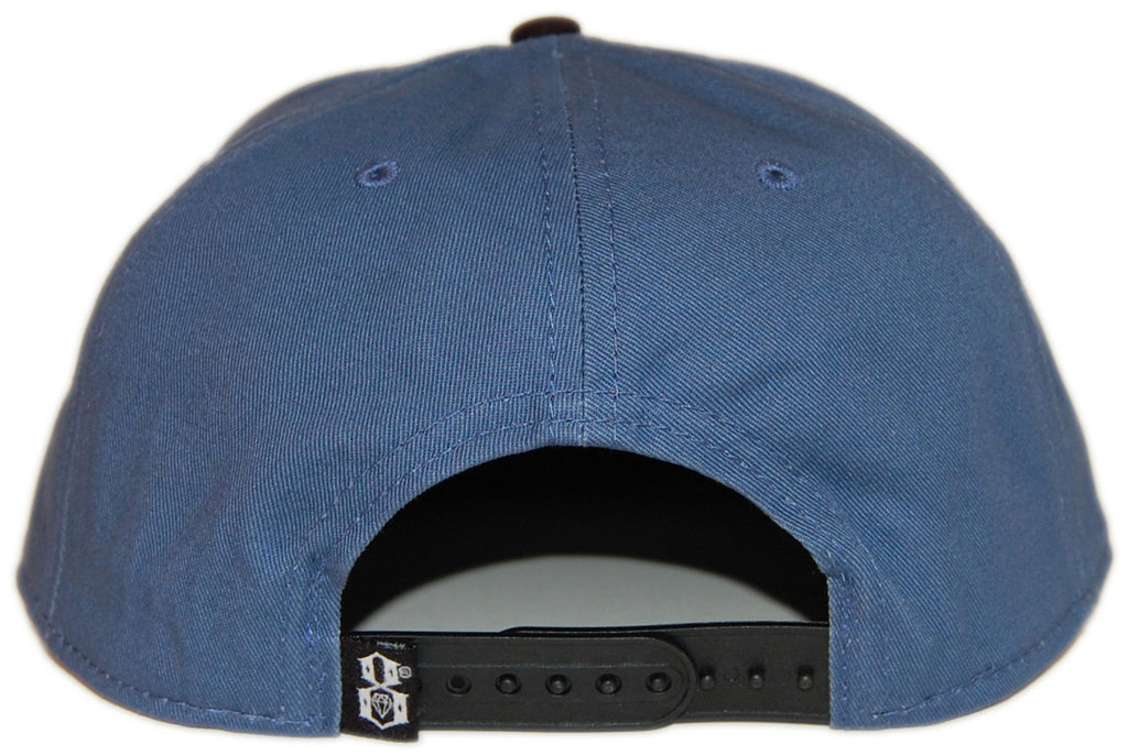 <!--020130917059678-->REBEL8 - 'Root Of All Evil' [(Dark Blue) Snap Back Hat]