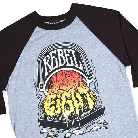 REBEL8 - 'Pouring The 8' [(Gray) T-Shirt]