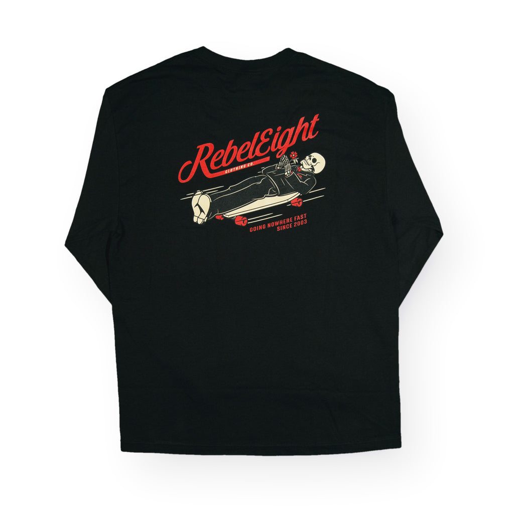 <!--020160725073718-->REBEL8 - 'Nowhere Fast' [(Black) Long Sleeve Shirt]