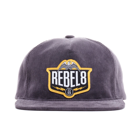 REBEL8 - 'Standing Strong' [(Dark Gray) Snap Back Hat]