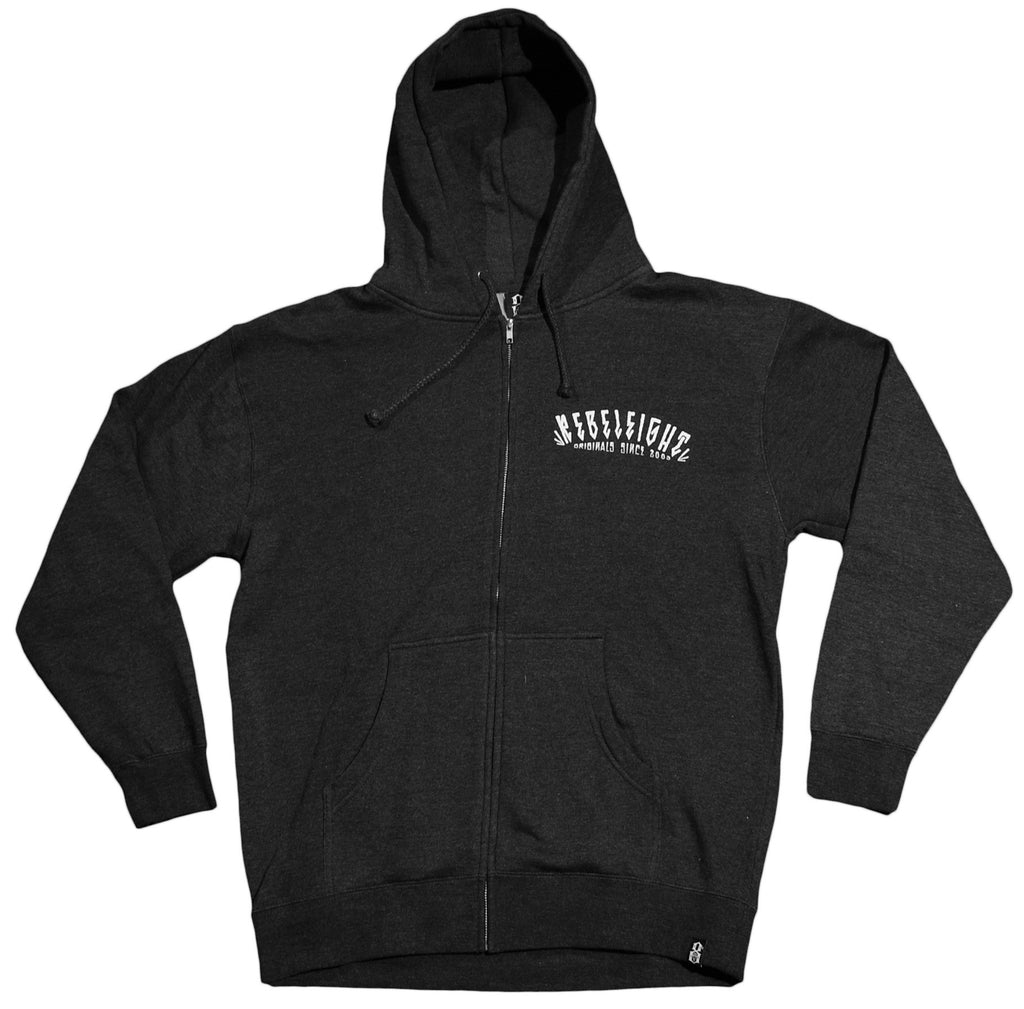 <!--2012112048-->REBEL8 - 'Two Girls' [(Dark Gray) Hooded Sweatshirt]