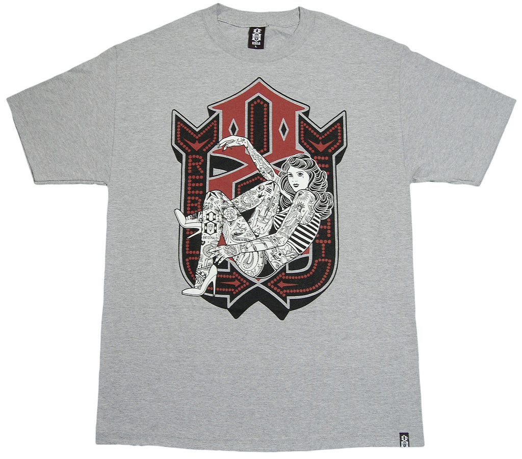<!--2012112046-->REBEL8 - 'Lusty Lady' [(Gray) T-Shirt]