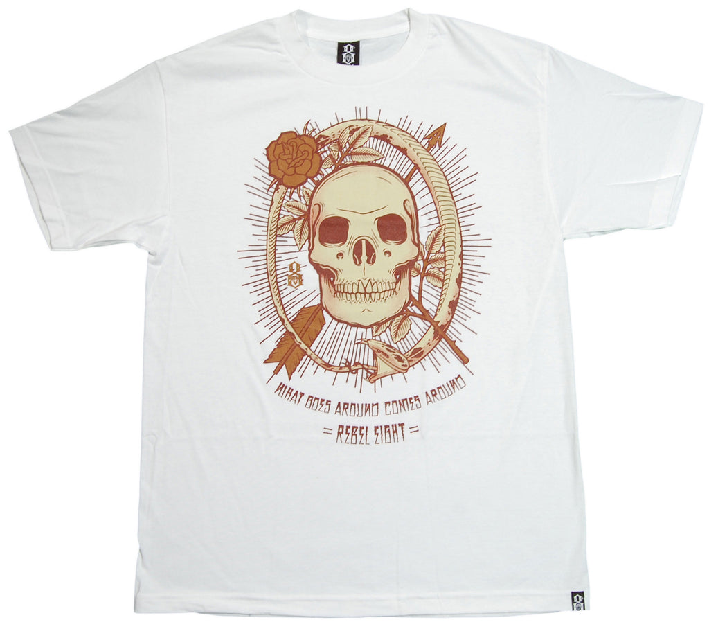 <!--2012112056-->REBEL8 - 'W.G.A.C.A' [(White) T-Shirt]