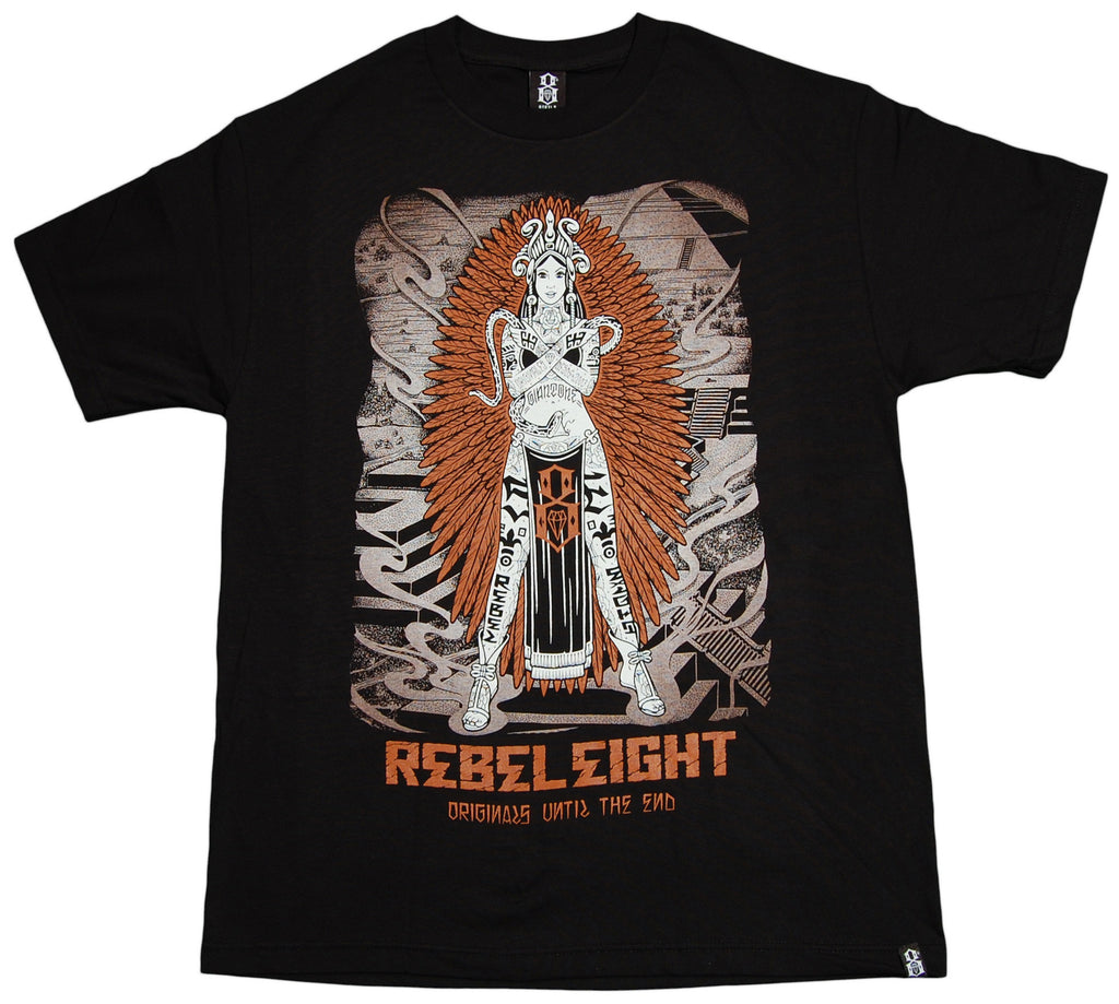 <!--2012112042-->REBEL8 - '2012' [(Black) T-Shirt]
