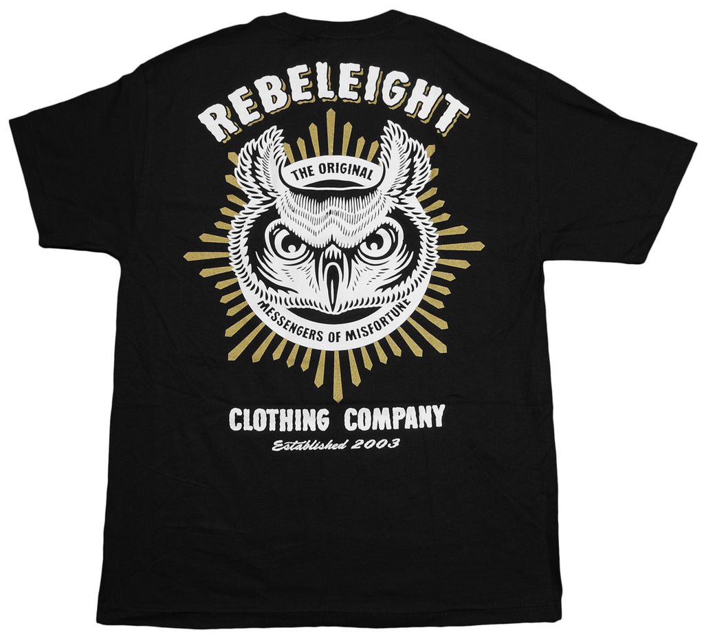 <!--2012112056-->REBEL8 - 'Owluminati' [(Black) T-Shirt]