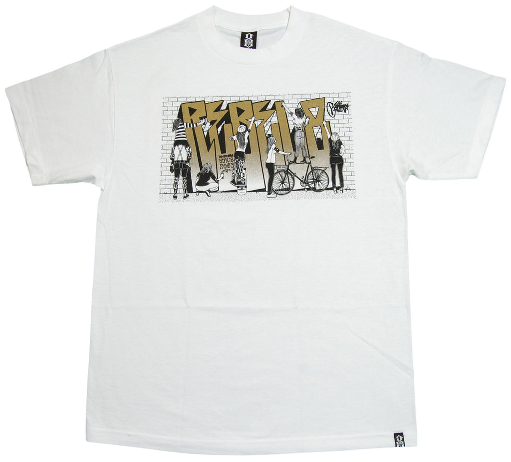 <!--2012112014-->REBEL8 - 'Group Therapy' [(White) T-Shirt]
