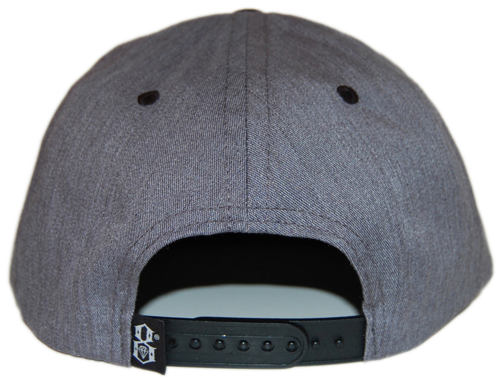 <!--020121120051301-->REBEL8 - 'Owluminati' [(Light Gray) Snap Back Hat]