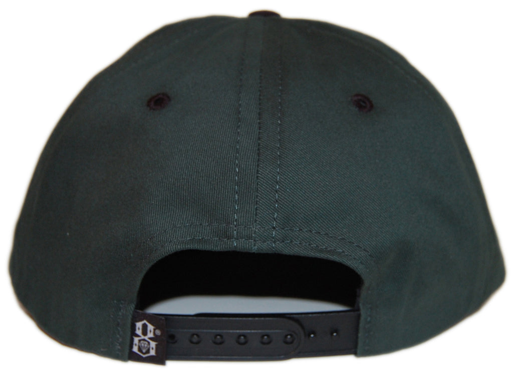 REBEL8 - 'Pantera - Forest' [(Dark Green) Snap Back Hat]