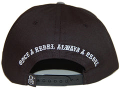 <!--020121120051304-->REBEL8 - 'Always A Rebel' [(Black) Snap Back Hat]