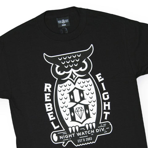REBEL8 - 'Night Watch' [(Black) T-Shirt]