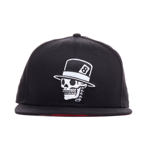 REBEL8 - 'Angelino' [(Black) Fitted Hat]