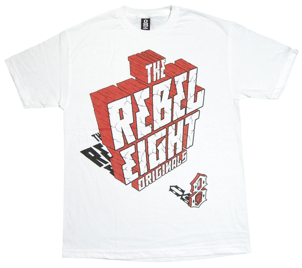 <!--2012090436-->REBEL8 - 'High Noon' [(White) T-Shirt]