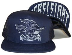 <!--020120904048530-->REBEL8 - 'Eagle Eye Mesh' [(Dark Blue) Snap Back Hat]