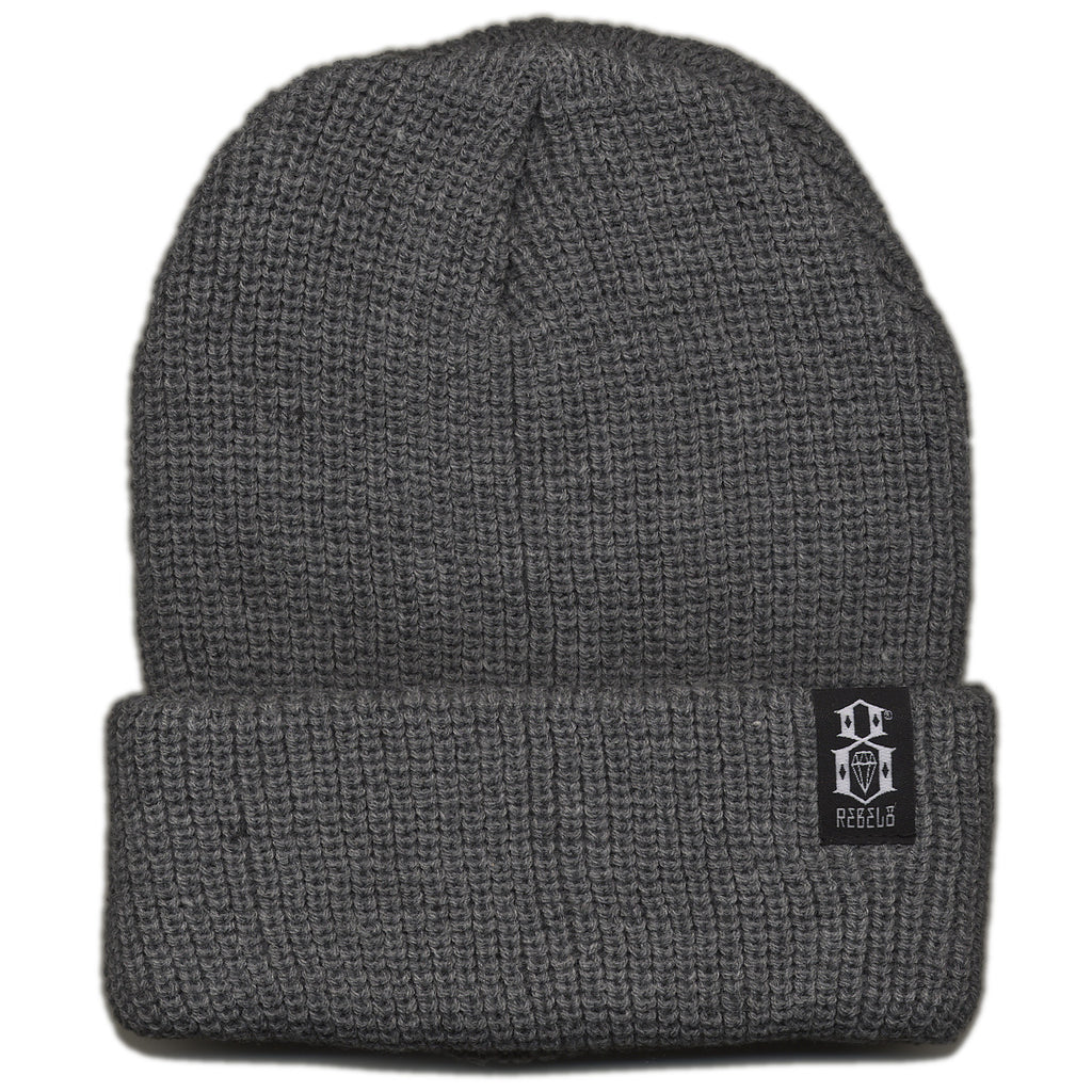 <!--020120904048526-->REBEL8 - 'Standard Issue' [(Gray) Winter Beanie Hat]