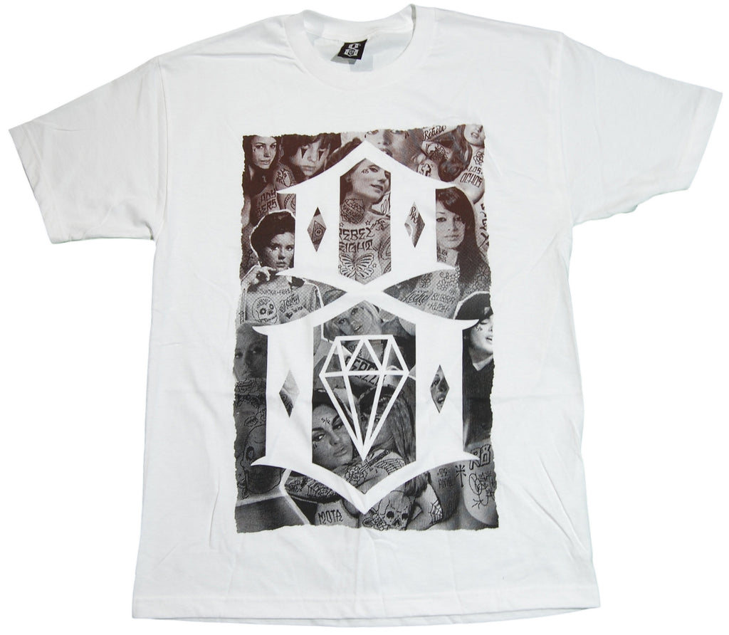 <!--2011083019-->REBEL8 - 'Vintage Nudes' [(White) T-Shirt]