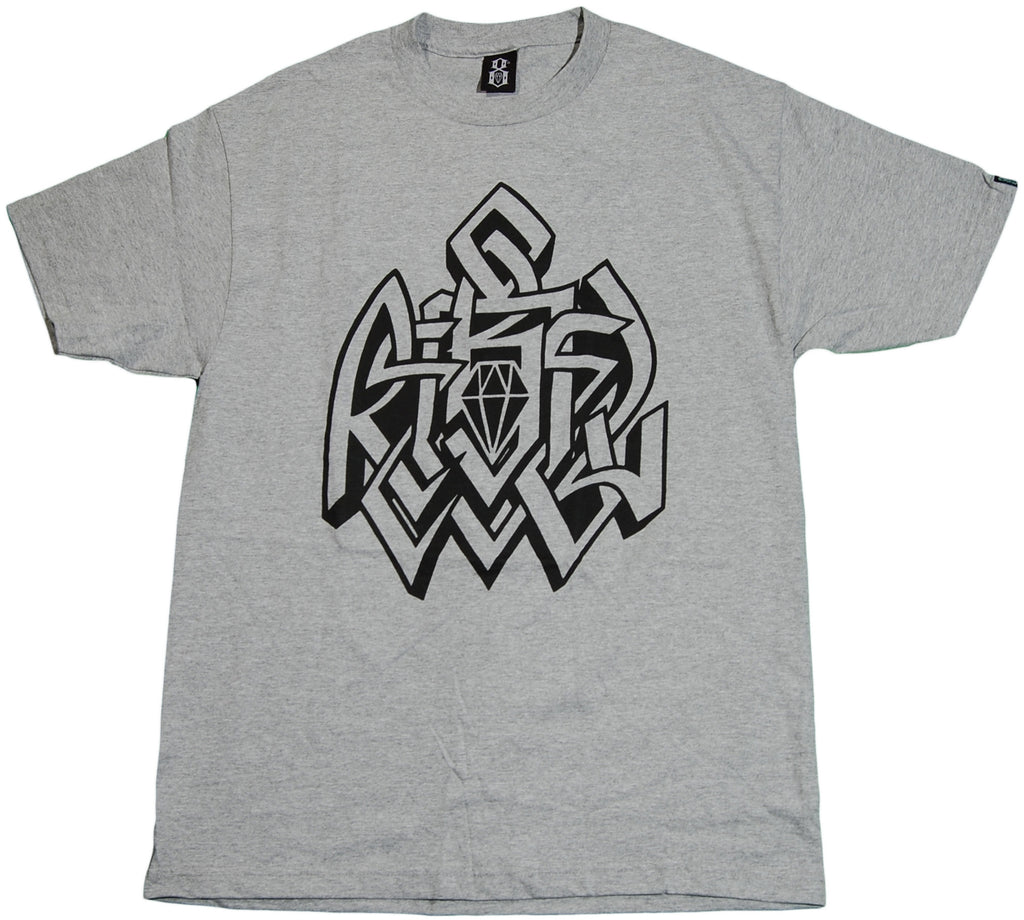 <!--2011083031-->REBEL8 - 'Lock Down' [(Gray) T-Shirt]
