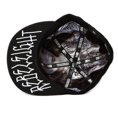 <!--2011083041-->REBEL8 - 'Real Big' [(Black) Fitted Hat]
