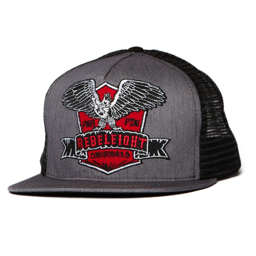 <!--020110830034375-->REBEL8 - 'Milwaukee Mesh' [(Dark Gray) Snap Back Hat]