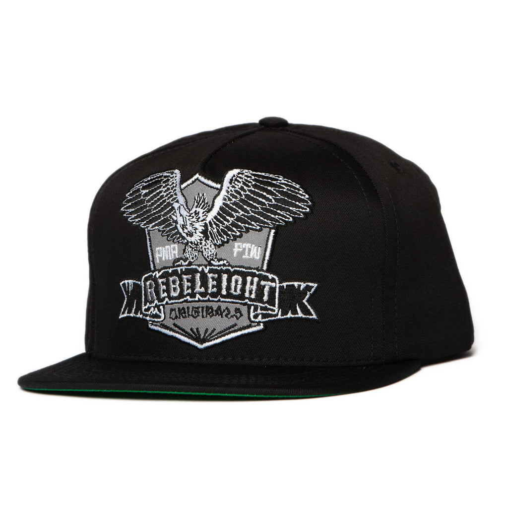 <!--020110830034376-->REBEL8 - 'Milwaukee Dark' [(Black) Snap Back Hat]