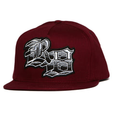 <!--020110830034369-->REBEL8 - 'The Block' [(Dark Red) Snap Back Hat]