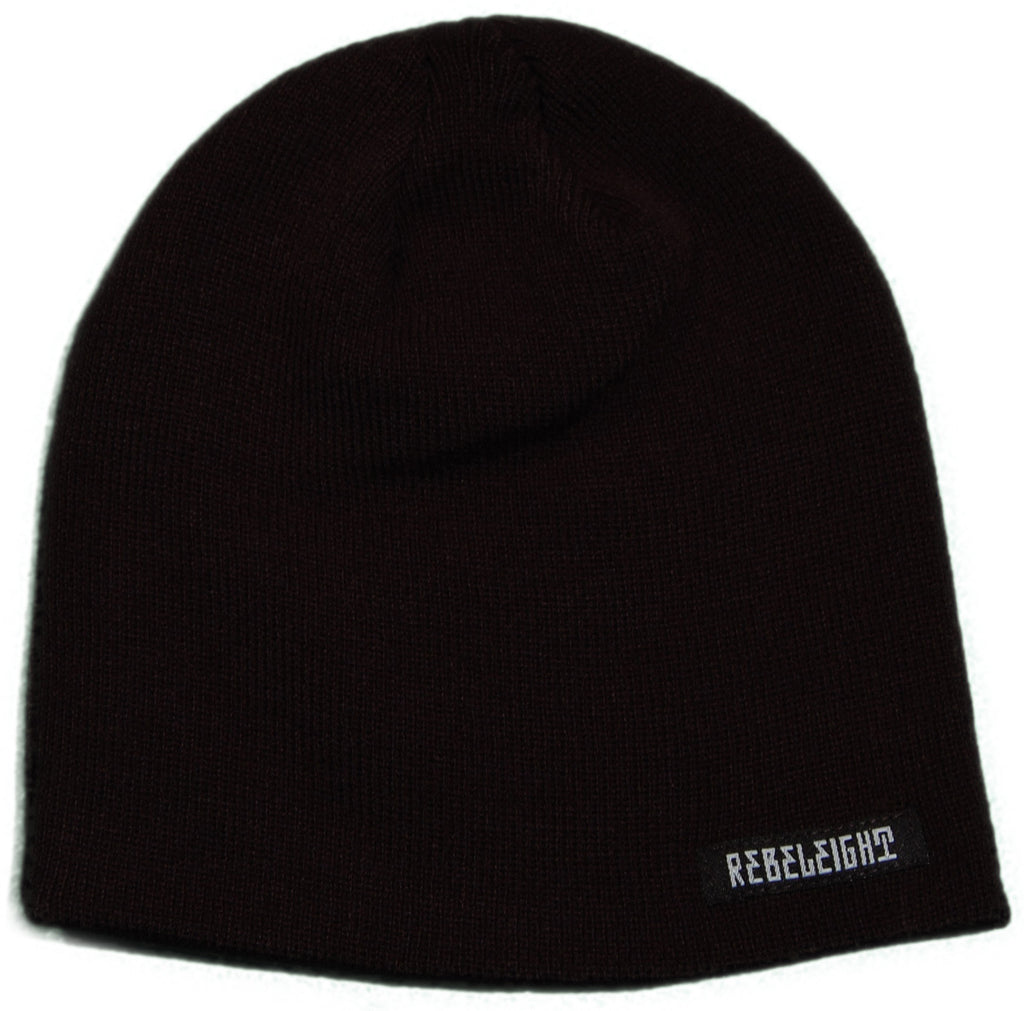 <!--020110927036058-->REBEL8 - 'Clean Cholo Beanie' [(Black) Winter Beanie Hat]