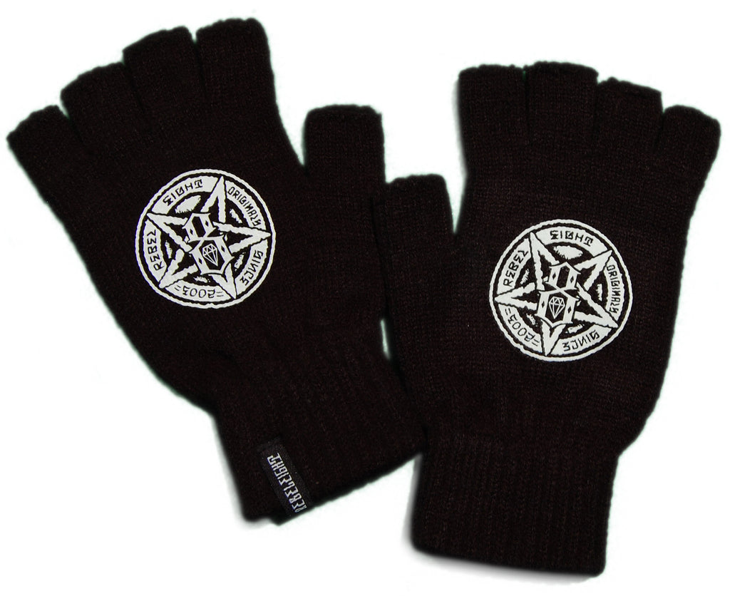 <!--020110927036062-->REBEL8 - 'Death Proof' [(Black) Gloves]
