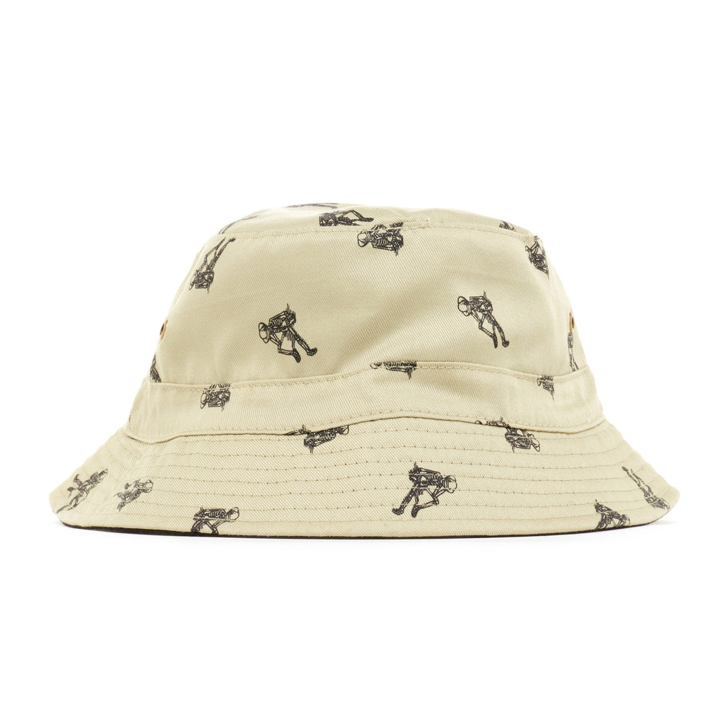 REBEL8 - 'Permanent Vacation (REVERSIBLE)' [(Light Brown) Bucket Hat]