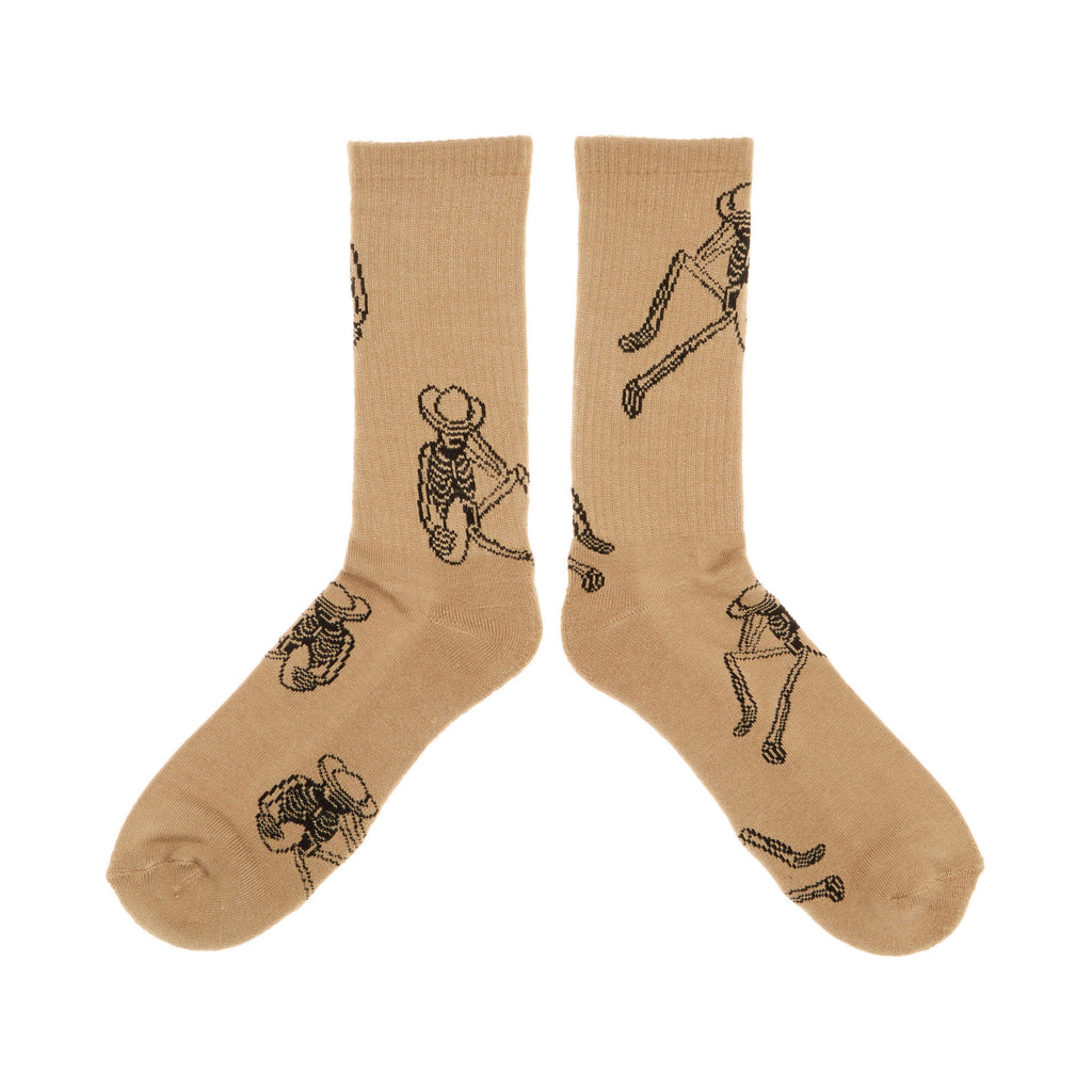 <!--020140521063791-->REBEL8 - 'Permanent Vacation' [(Light Brown) Socks]