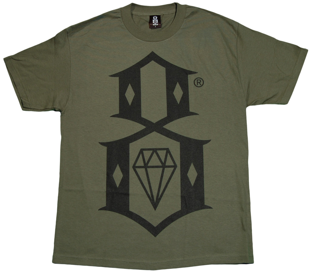 <!--2012022856-->REBEL8 - 'R8 Logo' [(Dark Green) T-Shirt]