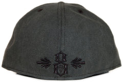 <!--2012022814-->REBEL8 - 'Signage' [(Dark Gray) Fitted Hat]