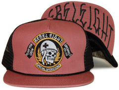 <!--020120228041823-->REBEL8 - 'Special Ops Mesh' [(Light Red) Snap Back Hat]