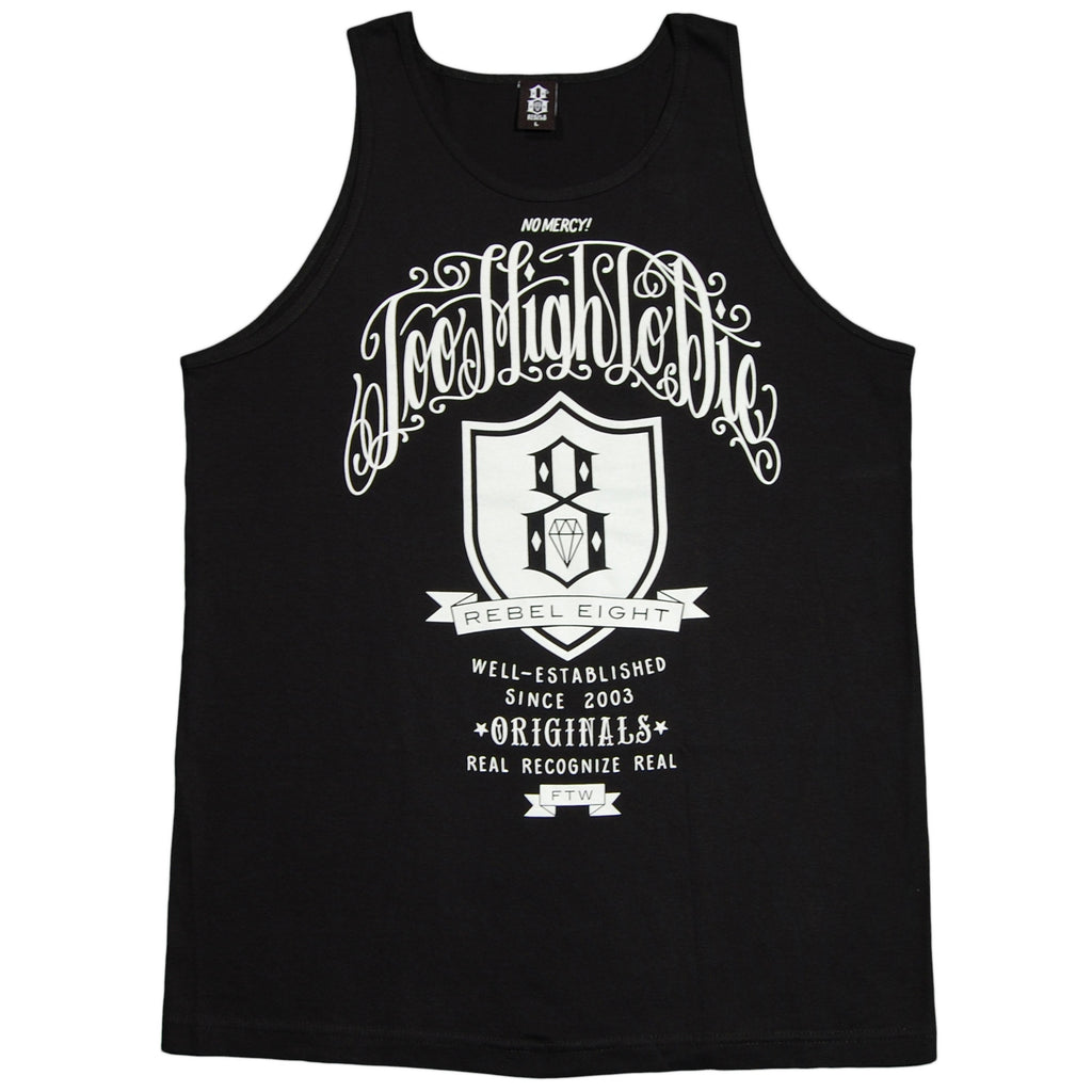 <!--2012052203-->REBEL8 - 'Too High To Die Remix' [(Black) Tank Top]