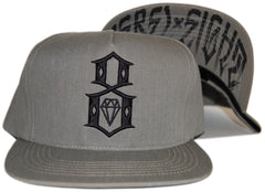 REBEL8 - 'Faded Army Logo' [(Dark Green) Snap Back Hat]