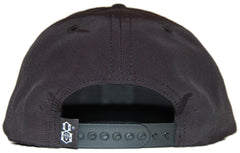 <!--020120522045015-->REBEL8 - 'R8 Logo - Taslin' [(Black) Snap Back Hat]