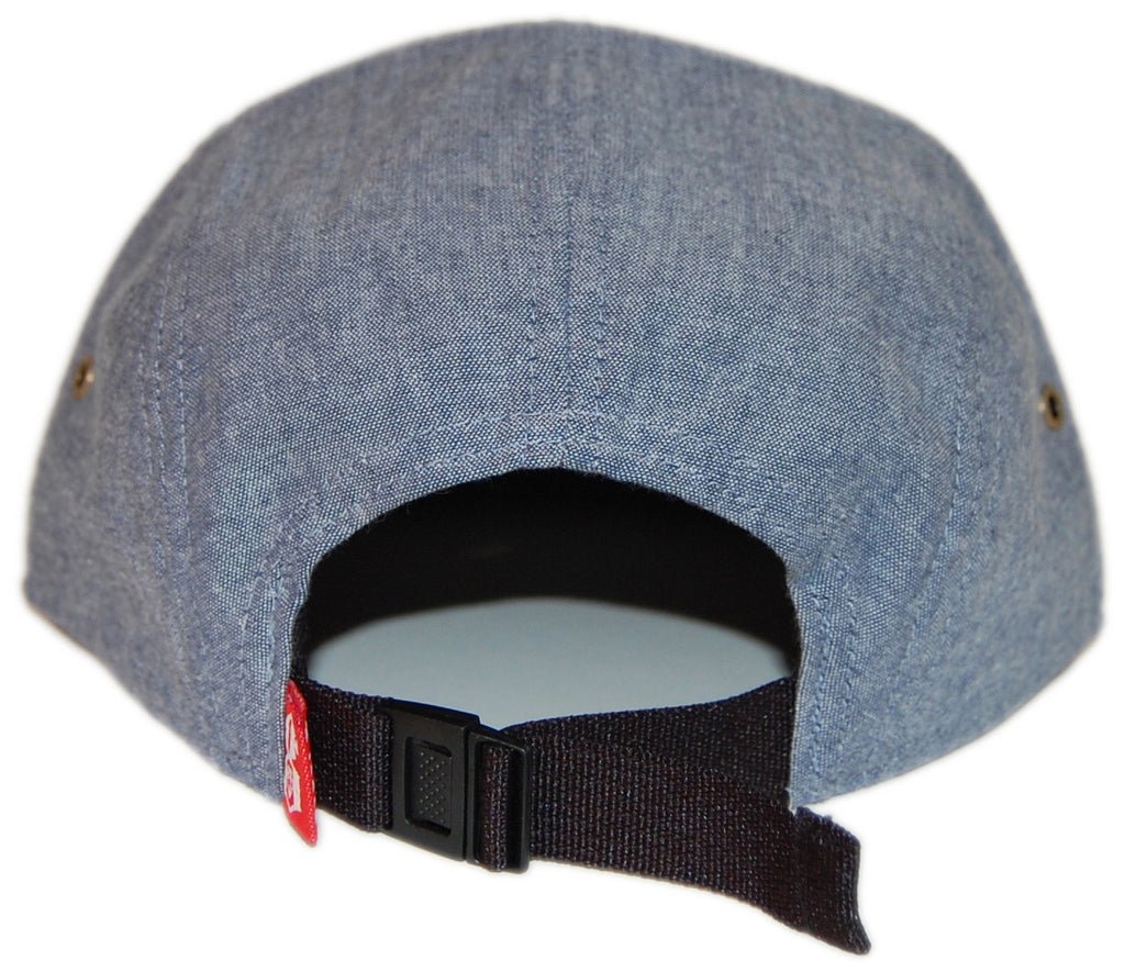REBEL8 - 'Trademark Chambray' [(Light Blue) Five Panel Camper Hat]