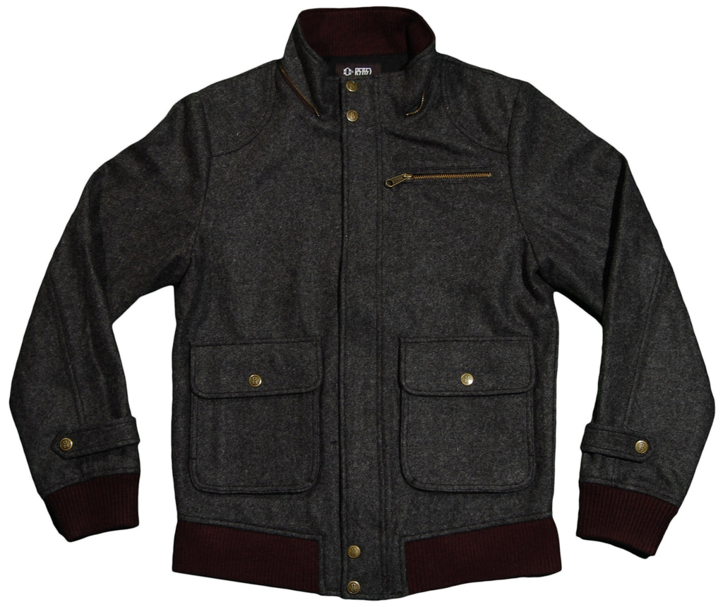 <!--2011112234-->REBEL8 - 'Crooklyn' [(Dark Gray) Jacket]
