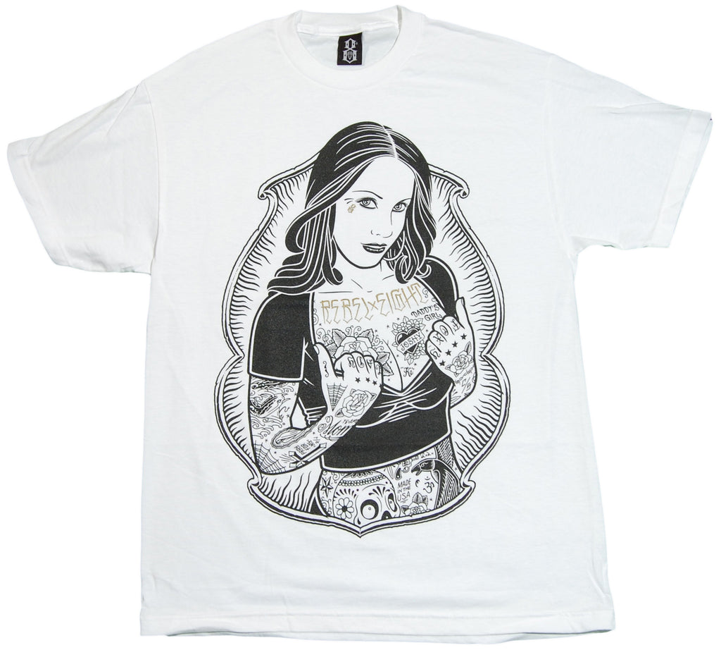 REBEL8 - 'Rosalie III' [(White) T-Shirt]