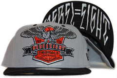 <!--2011112216-->REBEL8 - 'Milwaukee' [(Gray) Fitted Hat]