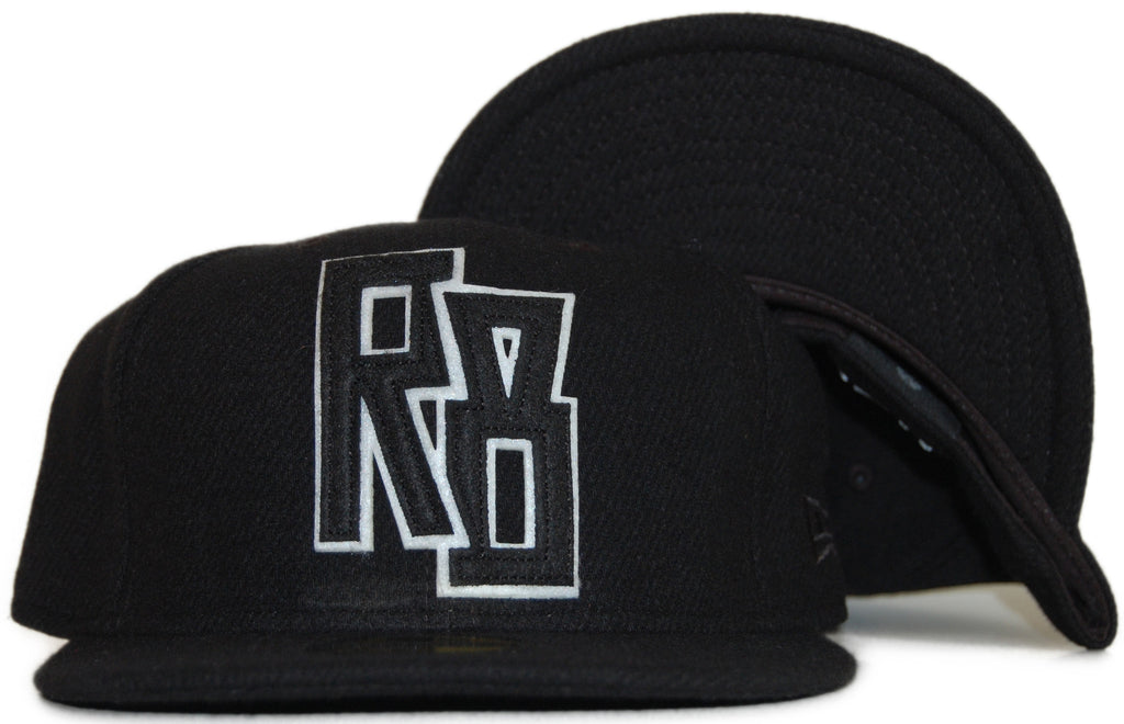 <!--2011112244-->REBEL8 - 'Glory Days' [(Black) Fitted Hat]