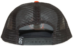 <!--020111122038390-->REBEL8 - '1984 Mesh' [(Black) Snap Back Hat]