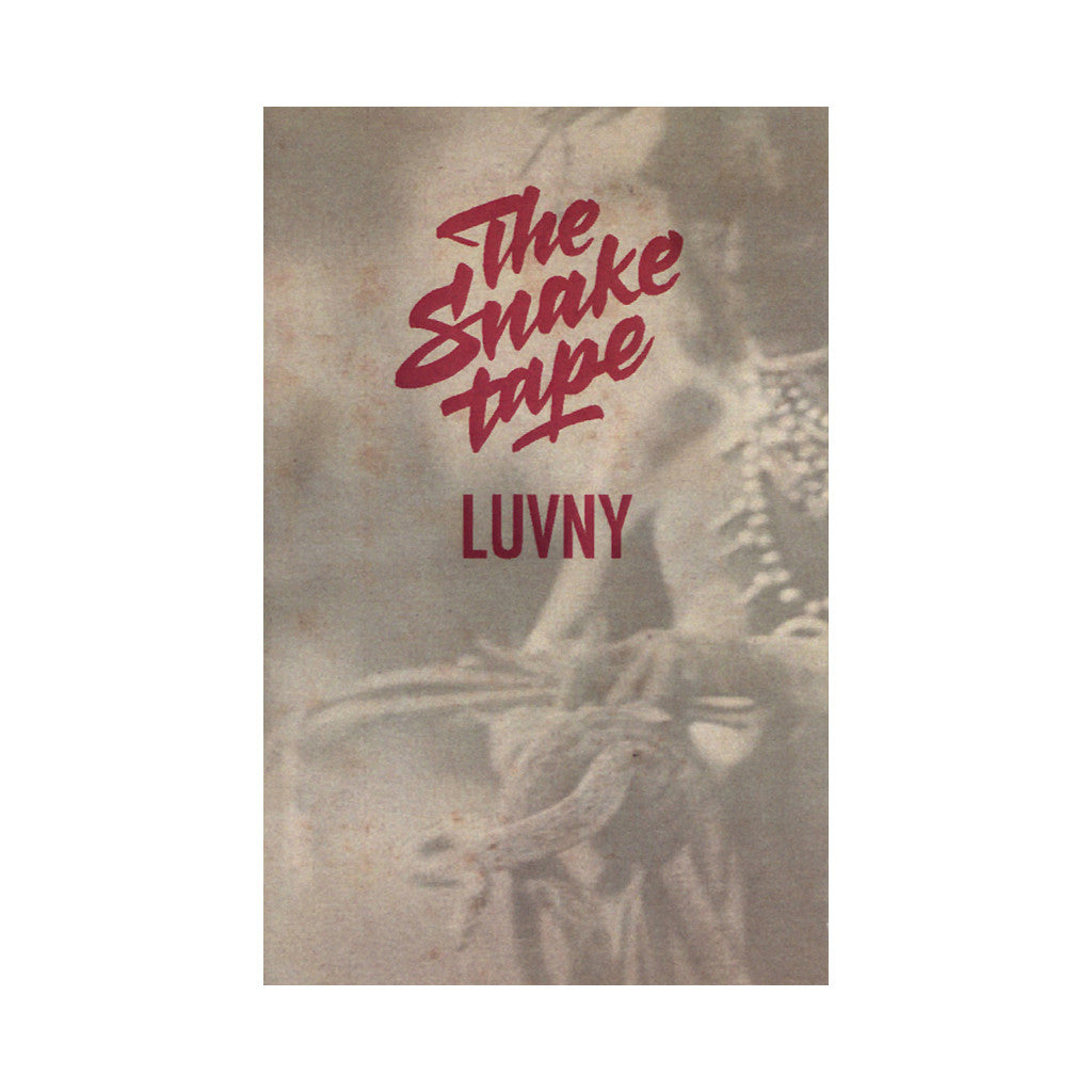 <!--2014040834-->Luv NY - 'The Snake Tape' [(Red) Cassette Tape]